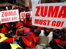 Mining investors weigh Zuma ousting