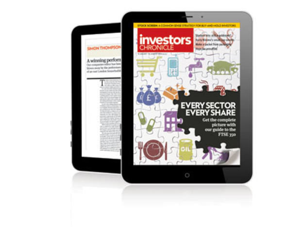 Now Available: Investors Chronicle for iPad and android
