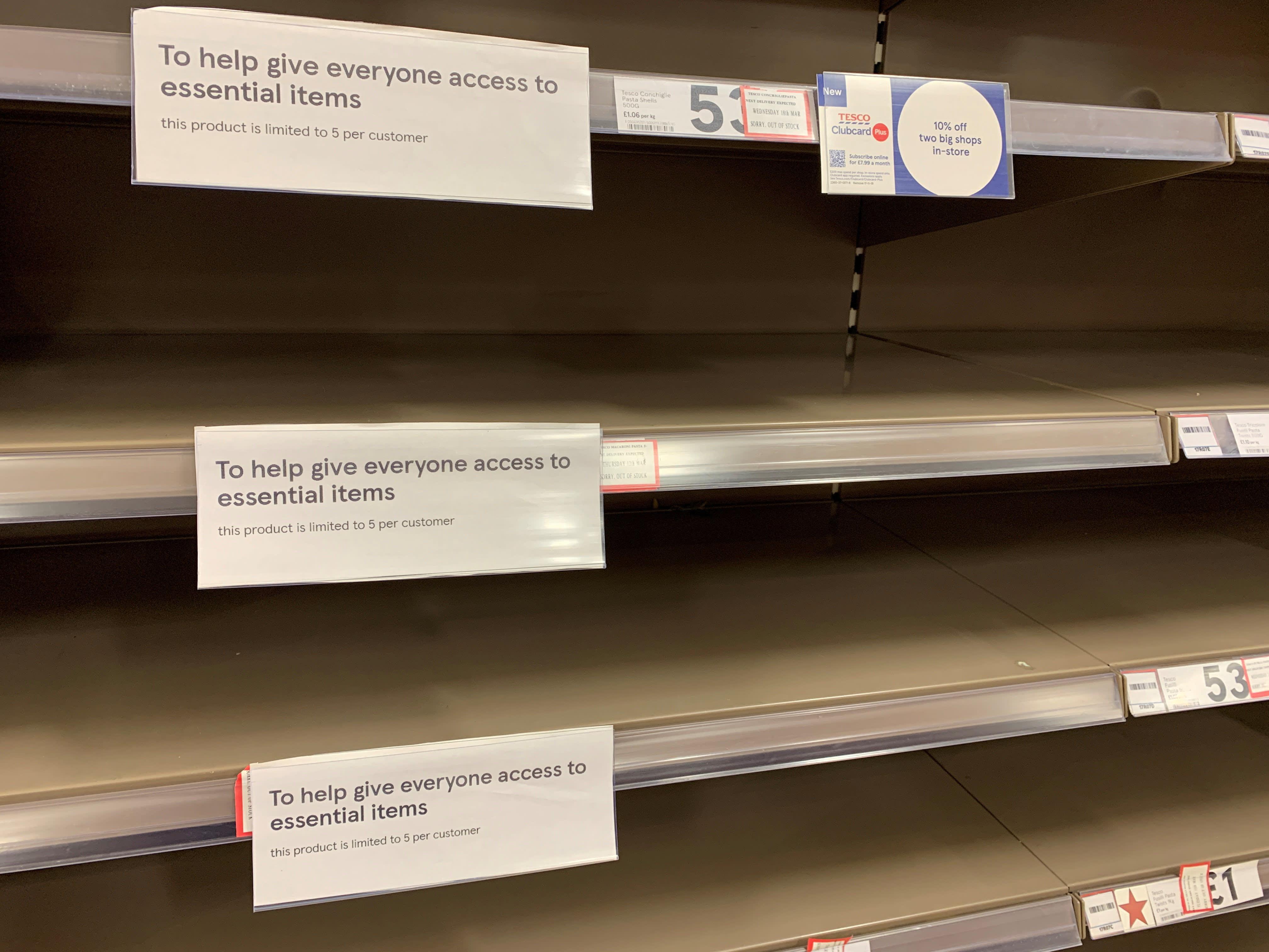 How coronavirus will impact supermarkets