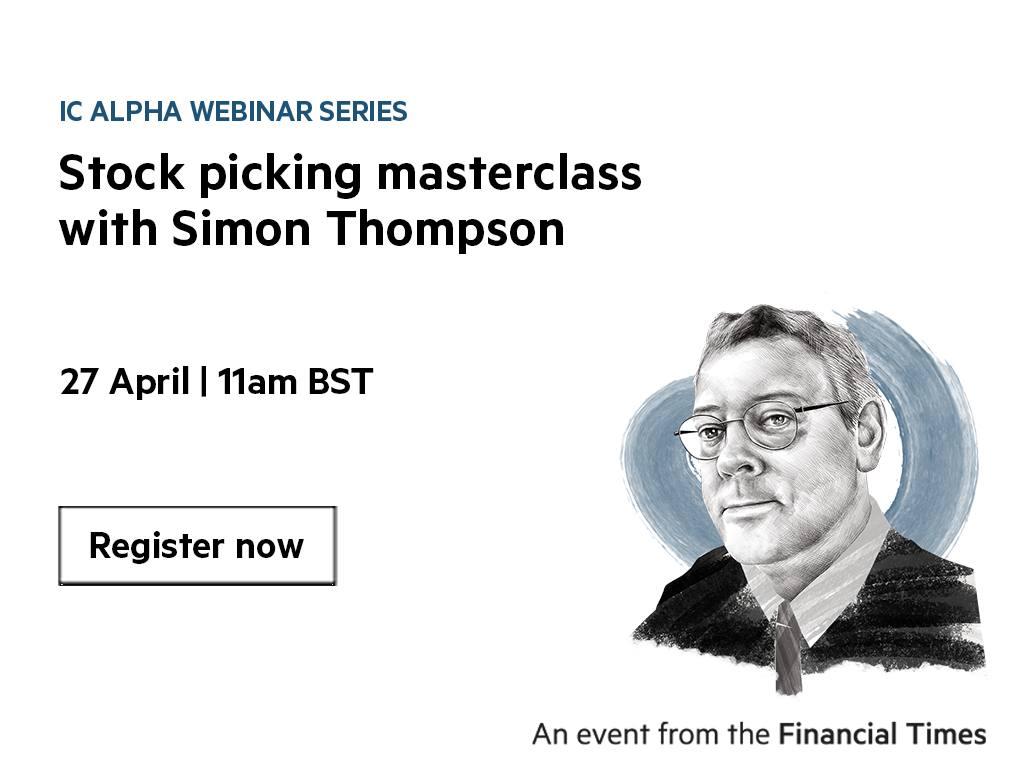 IC Alpha webinar series: Stock picking masterclass with Simon Thompson