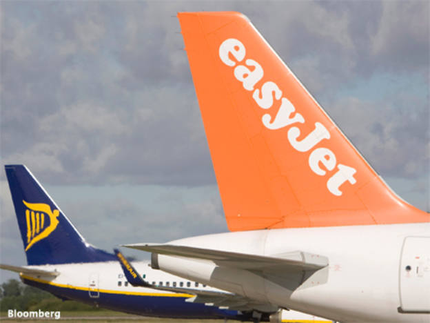 easyJet shares dip on load factor weakness