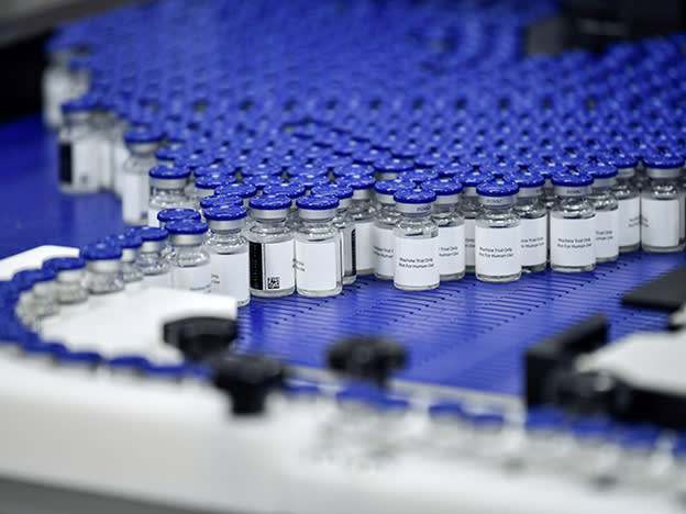 Positive trial data for Oxford/AstraZeneca vaccine