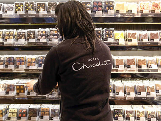 Hotel Chocolat's six-month sweet spot