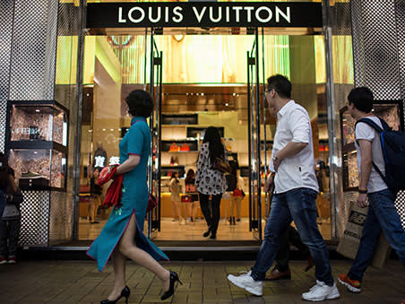 LVMH posts record numbers