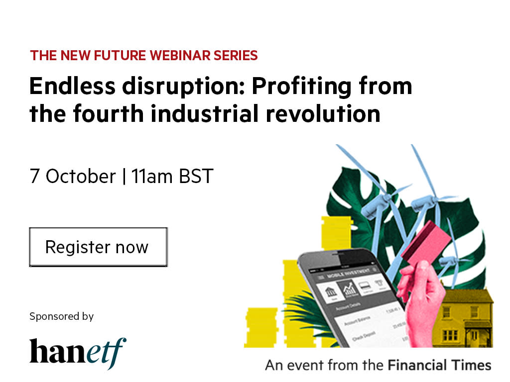 Endless disruption: profiting from the fourth industrial revolution