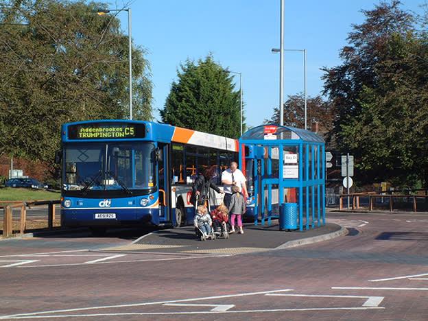 Stagecoach parks dividend on passenger slump