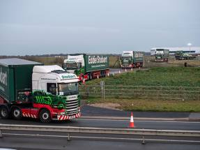 Eddie Stobart's shares plunge on return to the market