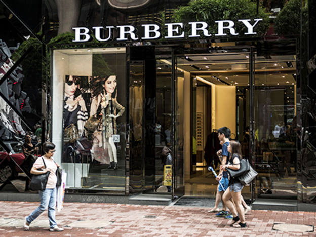 Burberry redesigned