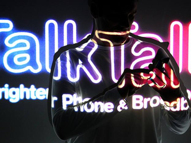 TalkTalk director walks the walk