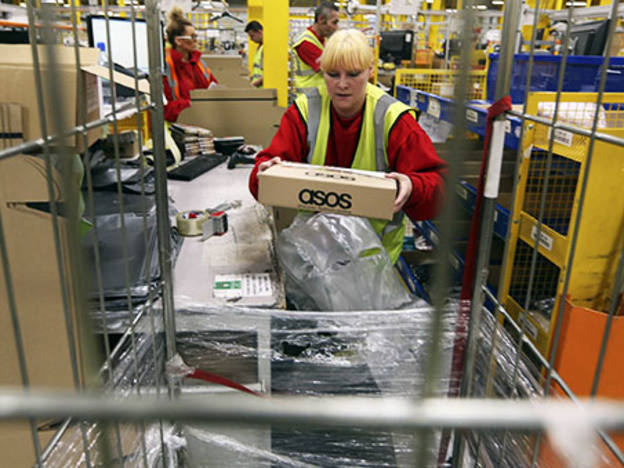 Asos plummets on weaker sales