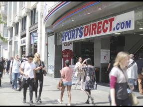 Sports Direct delays, then dives