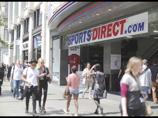 Sports Direct delays, then dives