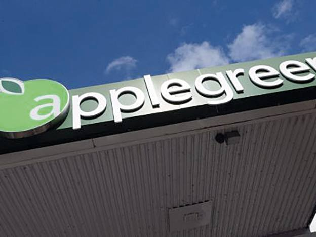 Applegreen grows outside of fuel