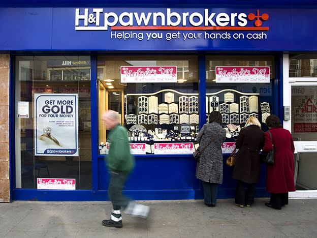 Lessons from History: Pawnbrokers and payday loans
