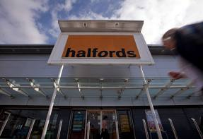 Halfords inching forward