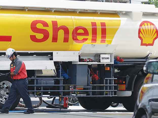 Never sell Shell?