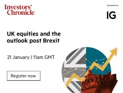 Upcoming - UK Equities and the outlook post-Brexit 21 January 2021