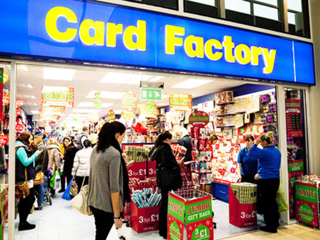 Card Factory directors chip in