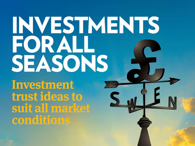 IC investment trust income portfolios: 12 months on