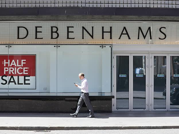 Debenhams drops dividend