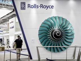 Rolls-Royce engine malfunctions on take-off