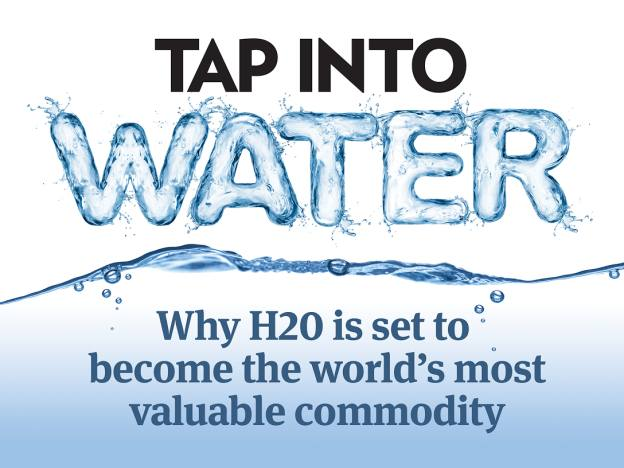 Tap into water