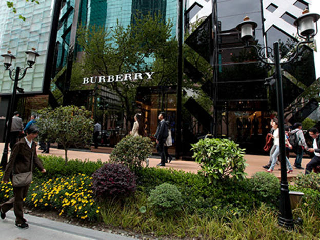 """Burberry at """"apex"""" of transformation"""