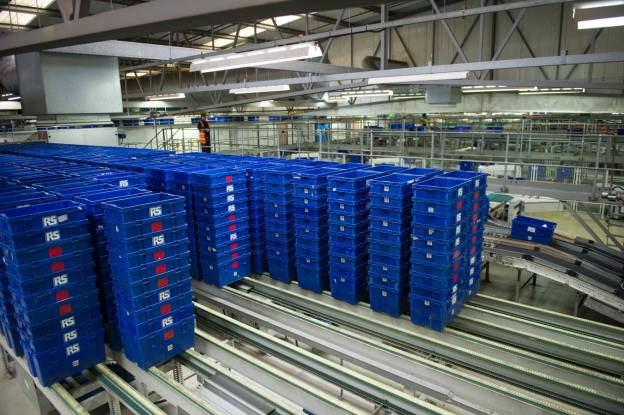 Electrocomponents takes reduced hit on British Steel