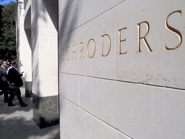 Schroders gets pandemic boost