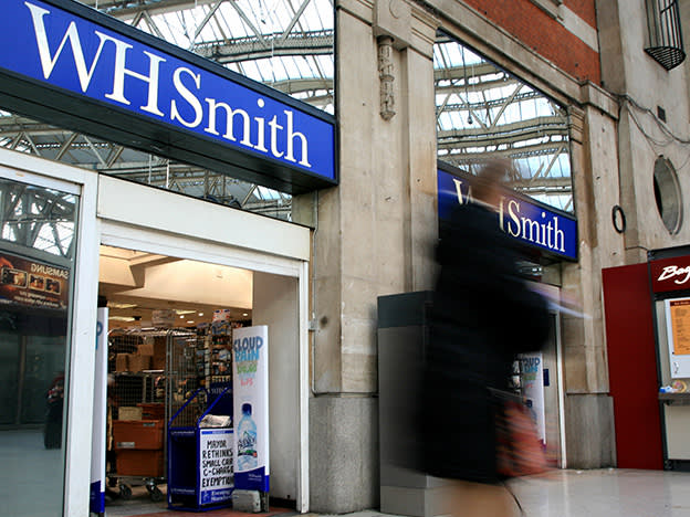 April the cruellest month for WH Smith