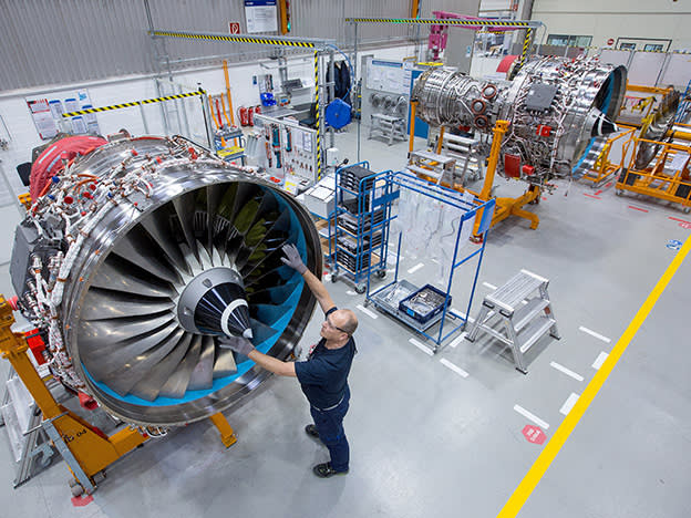 Rolls-Royce adjusts to new reality