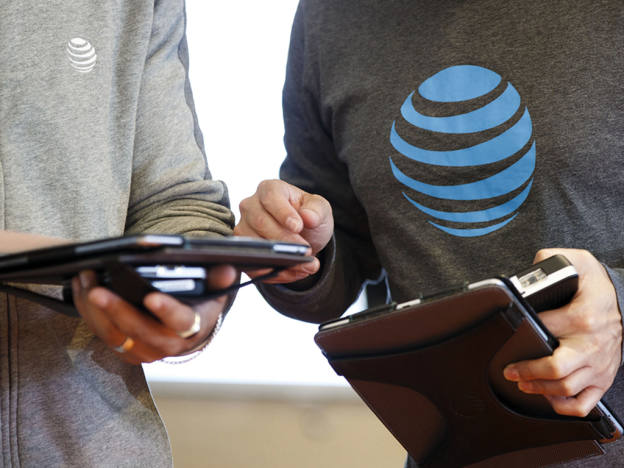 Watch AT&T's acquisition-related debt