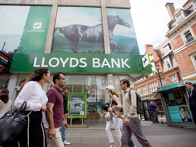 Lloyds' income finely balanced