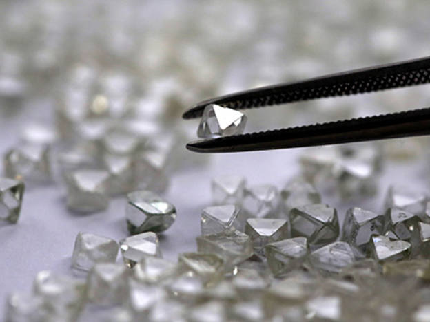 Gem Diamonds: carats and stick