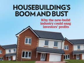 Housebuilding's boom and bust