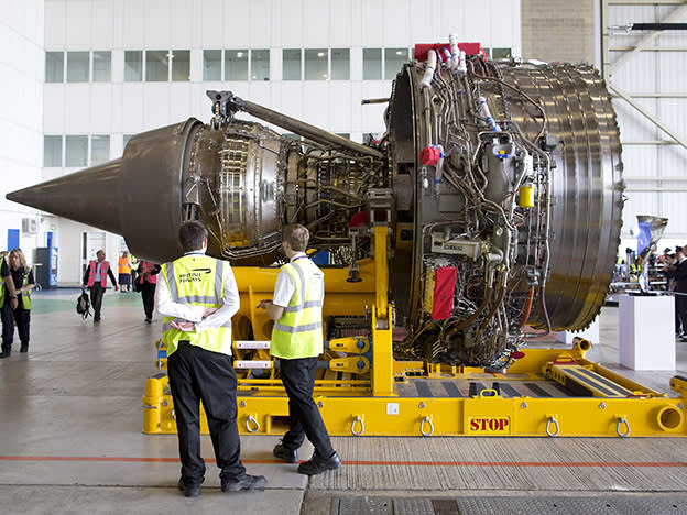 Will BAE ride in to save Rolls-Royce?