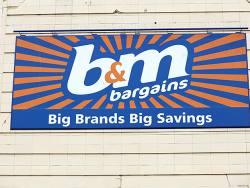 Bargain hunt with B&M
