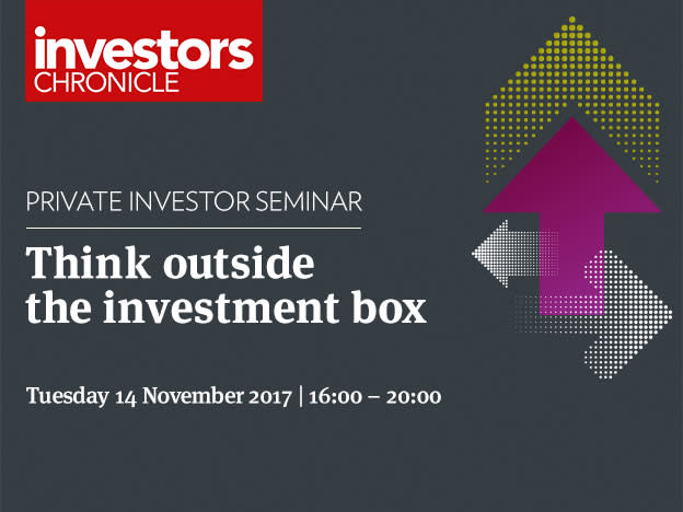 Register your place for our Think Outside the Investment Box Seminar