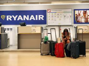 Ryanair half-year profits fall