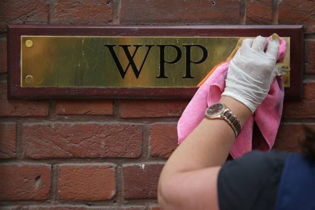 WPP dives on flat sales projection