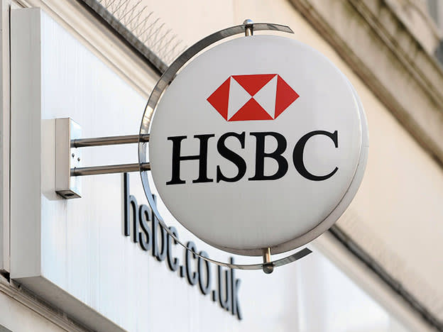 HSBC loan losses swell