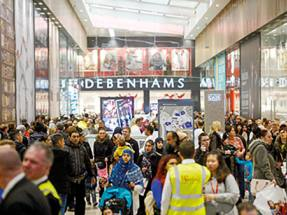 Debenhams warns on profits after restructuring