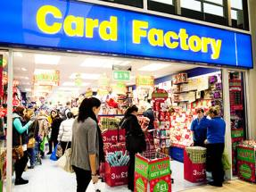 Card Factory's shares plunge