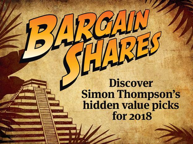 Bargain shares for 2018