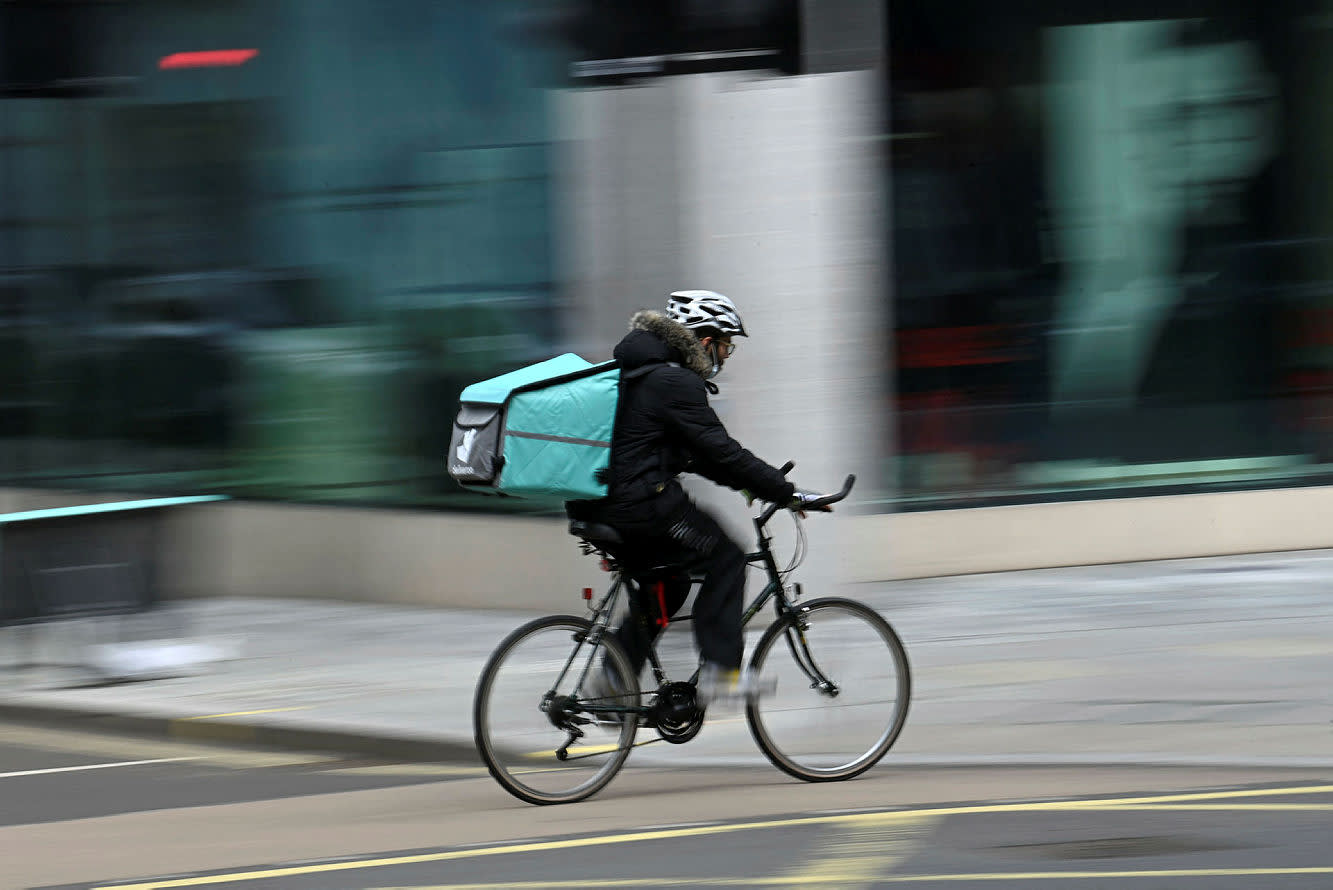 Today's Markets: Deliveroo shines on results day as Avast gets snapped up
