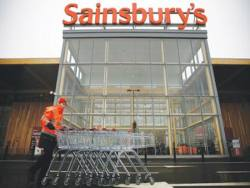 Deflation hits Sainsbury
