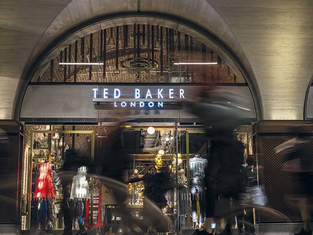 Ted Baker unfashionable in the extreme