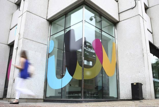Ad sales plunge at ITV