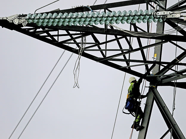 Stormy year for National Grid