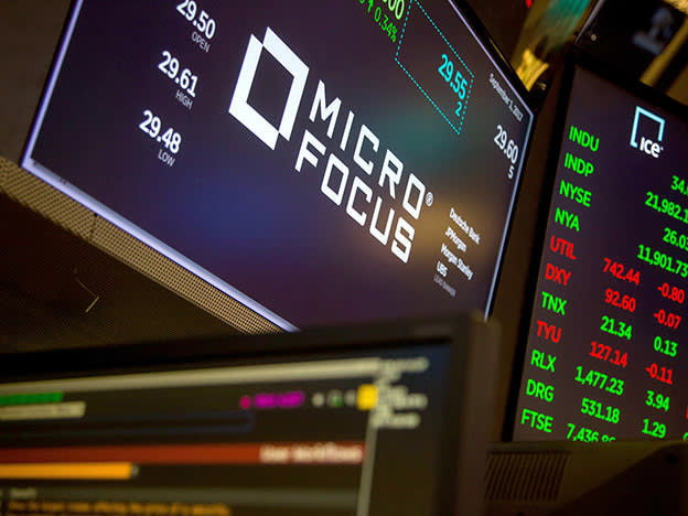 Micro Focus swings to $1bn loss on impairment charge